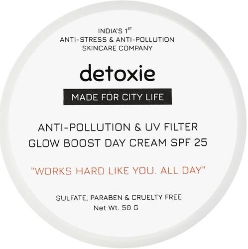 Detoxie Anti-Pollution & Uv Filter, Glow Boost Day Cream Spf 25
