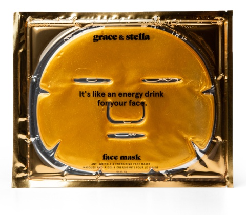 grace & stella Anti-Wrinkle & Energizing Face Masks