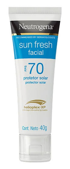 Neutrogena Protetor Solar Sun Fresh Facial SPF 70