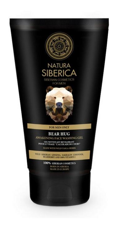 Natura Siberica Bear Hug Awakening Face Washing Gel