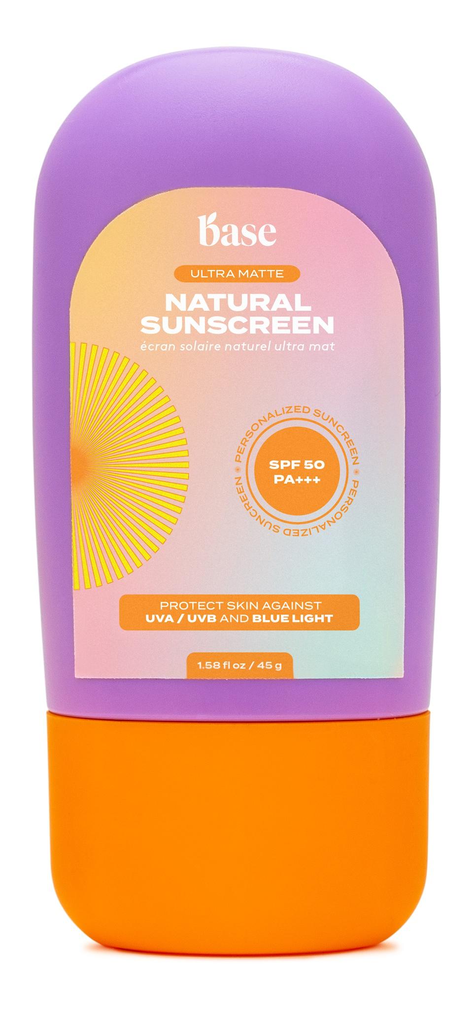 Base Ultra Matte Natural Sunscreen SPF 50 Pa+++