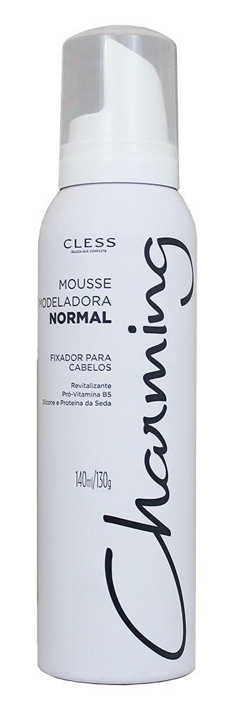 Cless Mousse Modeladora Charming Fixação Normal