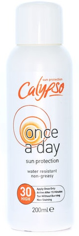 Calypso Calypso Once A Day Sun Protection Lotion With Spf 30