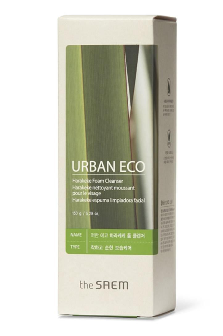 The Saem Urban Eco Harakeke Foaming Cleanser