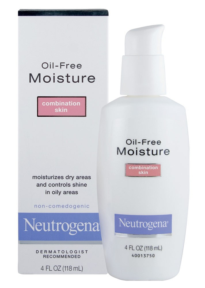 Neutrogena Oil-Free Moisture Combination Skin Facial Moisturiser