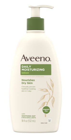Aveeno  Daily Moisturizing Lotion With Oat For Dry Skin