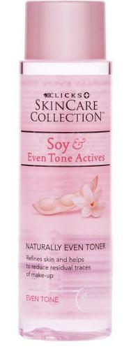 Clicks Skincare Collection Soy Even Tone Actives Naturally Even Toner