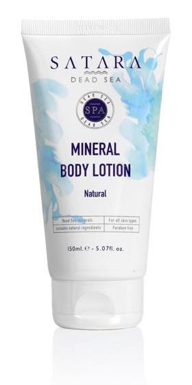 Satara Mineral Body Lotion Natural