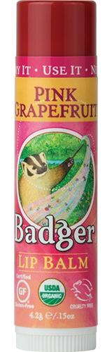 Badger Classic Organic Lip Balm - Pink Grapefruit TÖRÖLNI