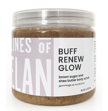 Lines of Elan Buff Renew Glow Brown Sugar Body Scrub