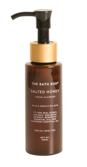 the bath box Salted Honey Facial Cleanser