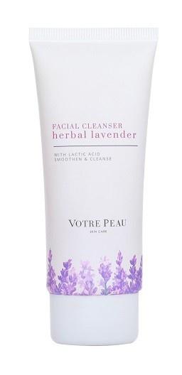 Votre Peau Herbal Lavender Facial Cleanser With Lactic Acid