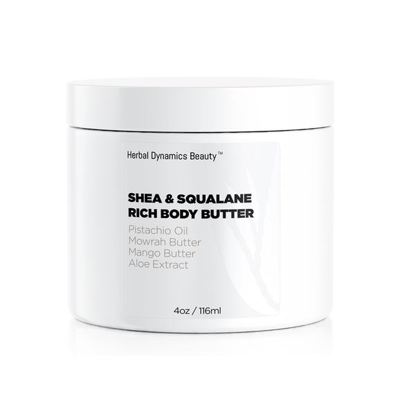 Herbal Dynamics Beauty Shea & Squalane Rich Body Butter