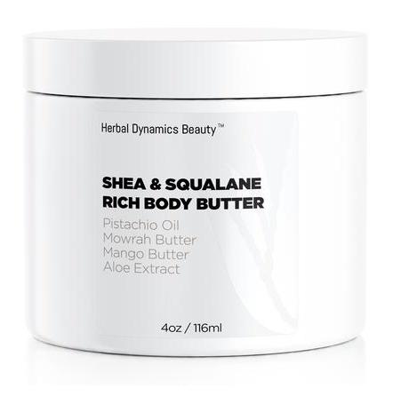 Herbal Dynamics Beauty Shea & Squalane Rich Body Butter