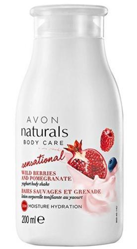 Avon Sensational Wild Berries And Pomegranate Yoghurt Body Shake