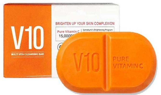 Some By Mi Pure Vitamin C V10 Cleansing Bar