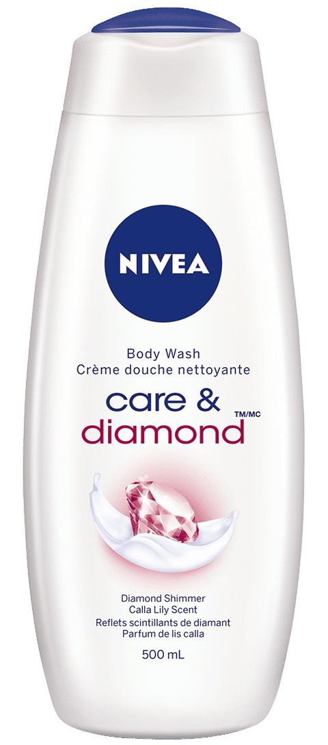 Nivea Care And Diamond Shower Gel