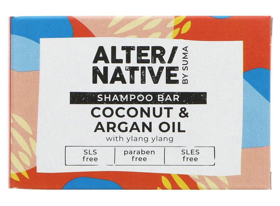 Alternative by Suma Glycerine Shampoo Bar - Coconut & Argan Oil