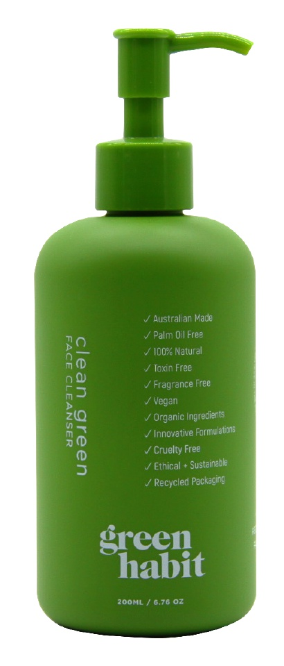 Green Habit Clean Green Face Cleanser