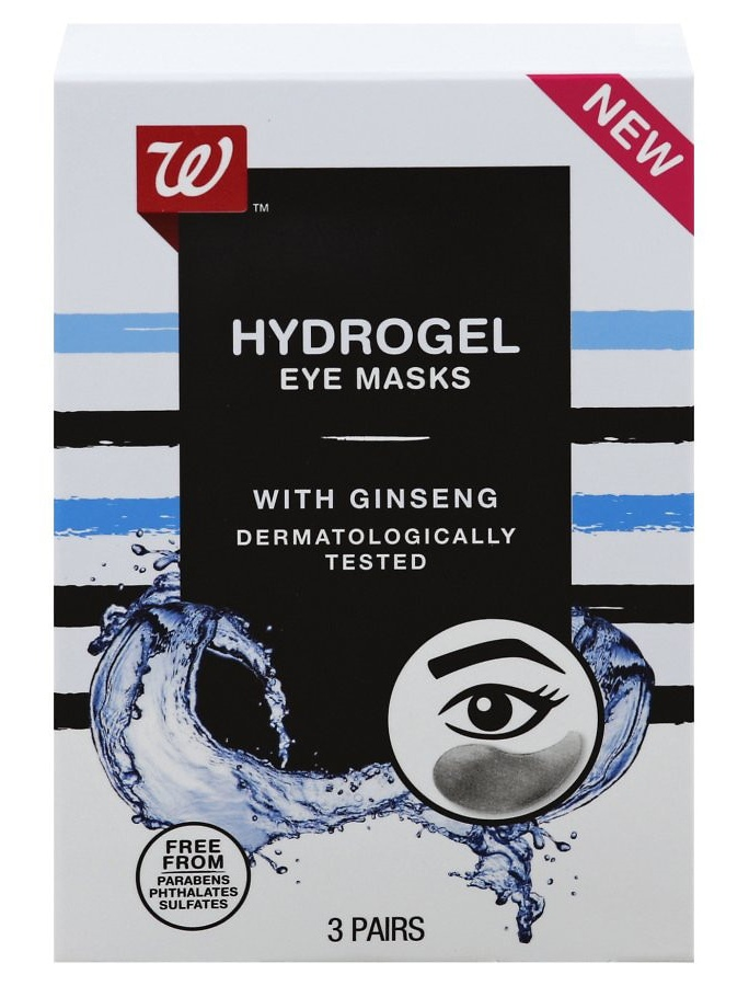 Walgreens Hydrogel Eye Masks