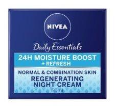Nivea Daily Essentials Regenerating Night Cream