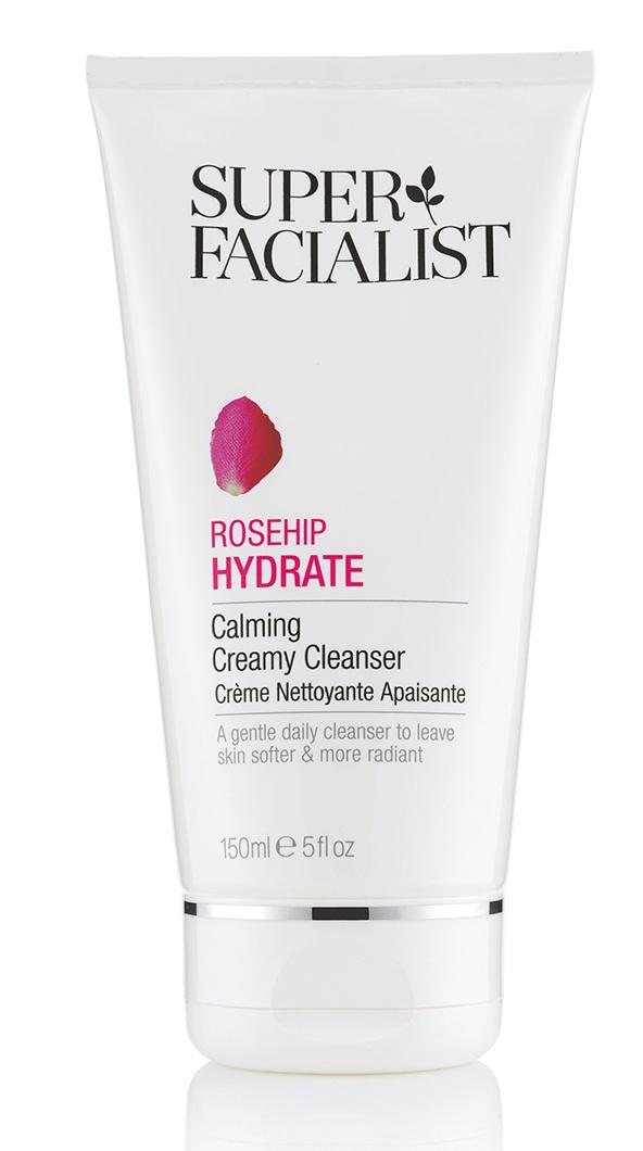 Super Facialist Rosehip Hydrate Calming Creamy Cleanser