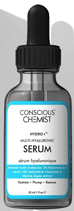 Conscious Chemist Hydro+™ | 3% Multi-molecular Hyaluronic Acid Serum