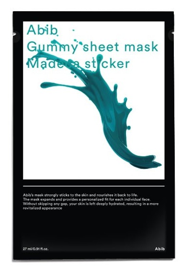 Abib Cosmetics Gummy Sheet Mask Madecassoside Sticker