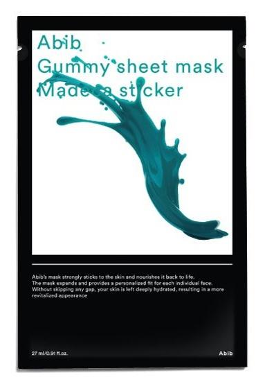 Abib Cosmetics Gummy Sheet Mask Madecassoside Sticker