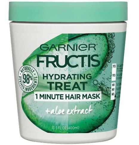 Garnier Fructis Hydrating Treat 1 Minutes Hair Mask + Aloe Extract