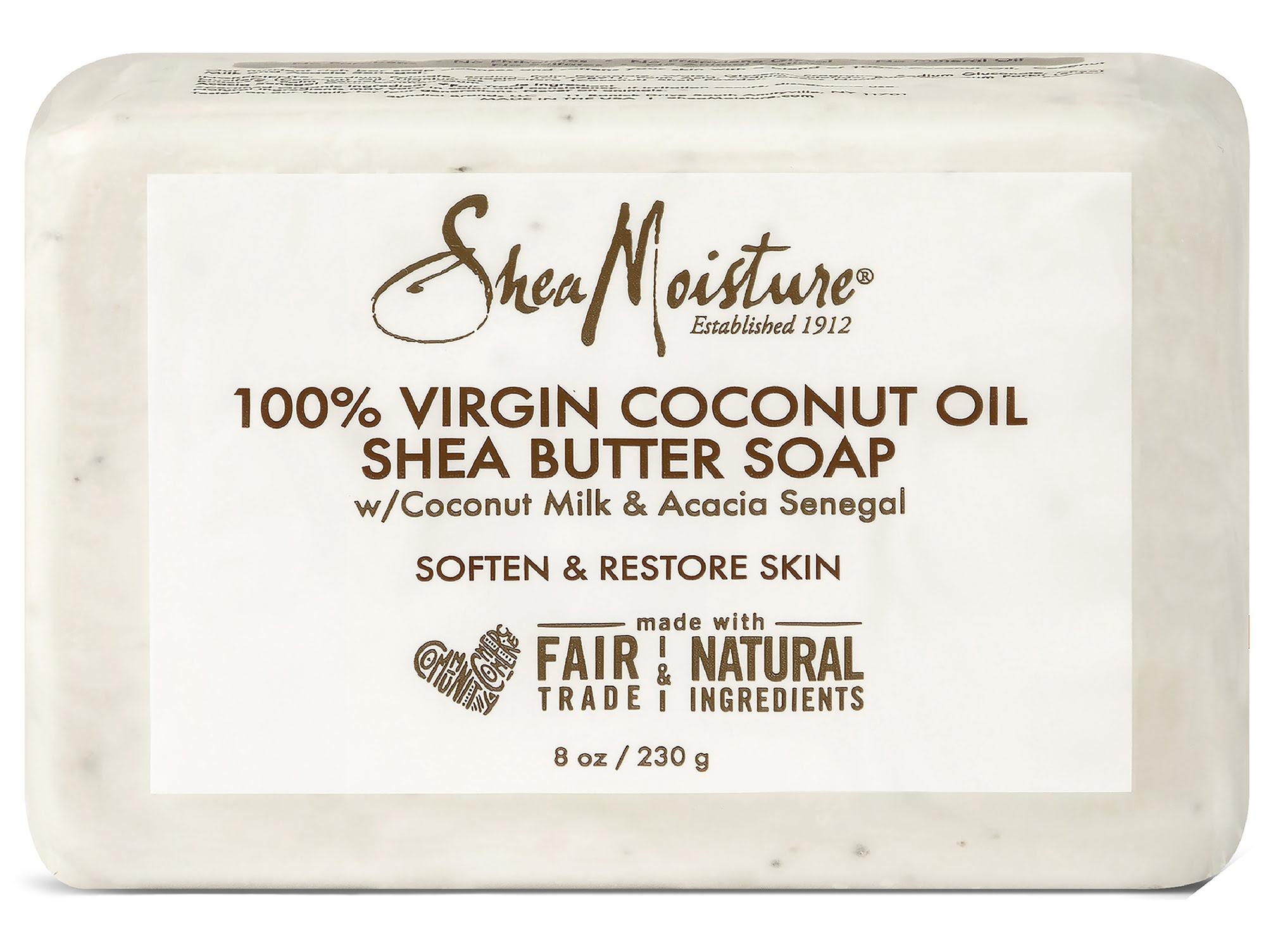 SheaMoisture 100% Virgin Coconut Oil Daily Hydration Bar Soap