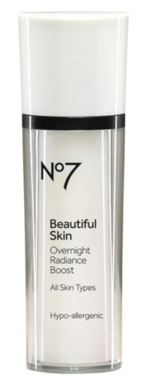 Boots No7 Beautiful Skin Overnight Radiance Boost 30Ml