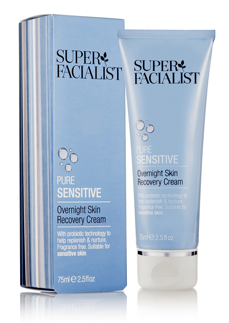 Skin Facialist Pure Sensitive Overnight Skin Recovery Cream