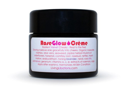 living libations Rose Glow Face Creme
