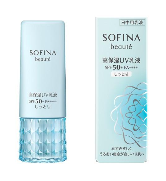 Sofina Beaute Uv Cut Emulsion Moist Spf50+ Pa++++