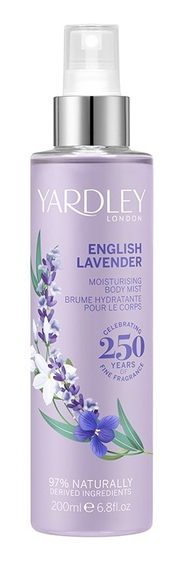Yardley  London English Lavender  Fragrance Moisturising Bodymist