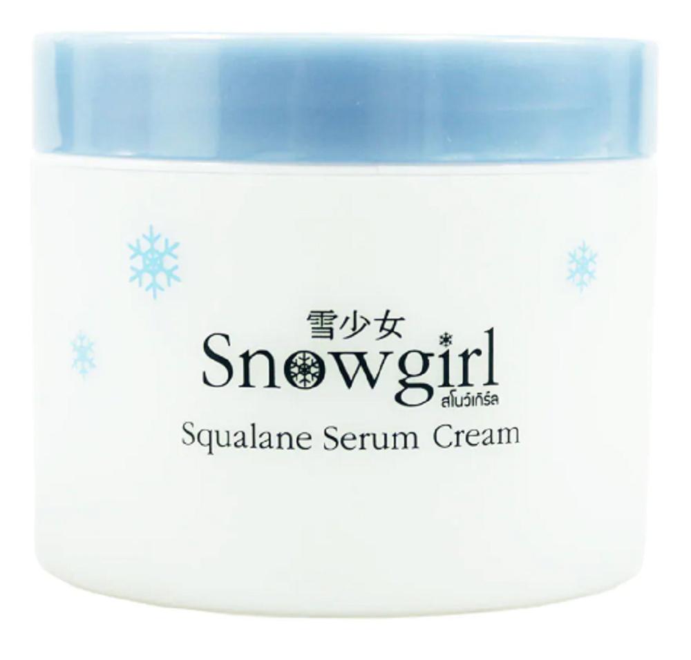 Snowgirl Squalane-Serum-Cream
