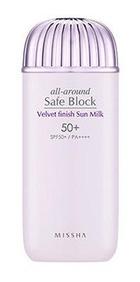 Missha All Around Safe Block Velvet Finish Sun Milk Spf50+ Pa++++