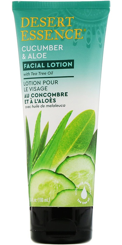 Desert Essence Facial Lotion, Cucumber & Aloe