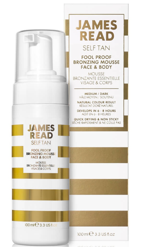 James Read Foolproof Bronzing Mousse Face & Body