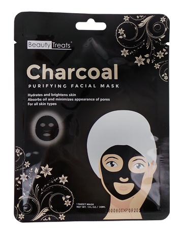 Beauty Treats Charcoal Sheet Mask