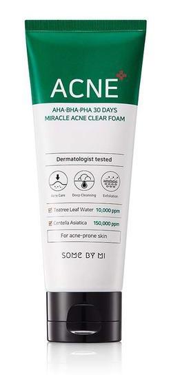 Somebymi AHA,BHA,PHA 30 Days Miracle Acne Clear Foam
