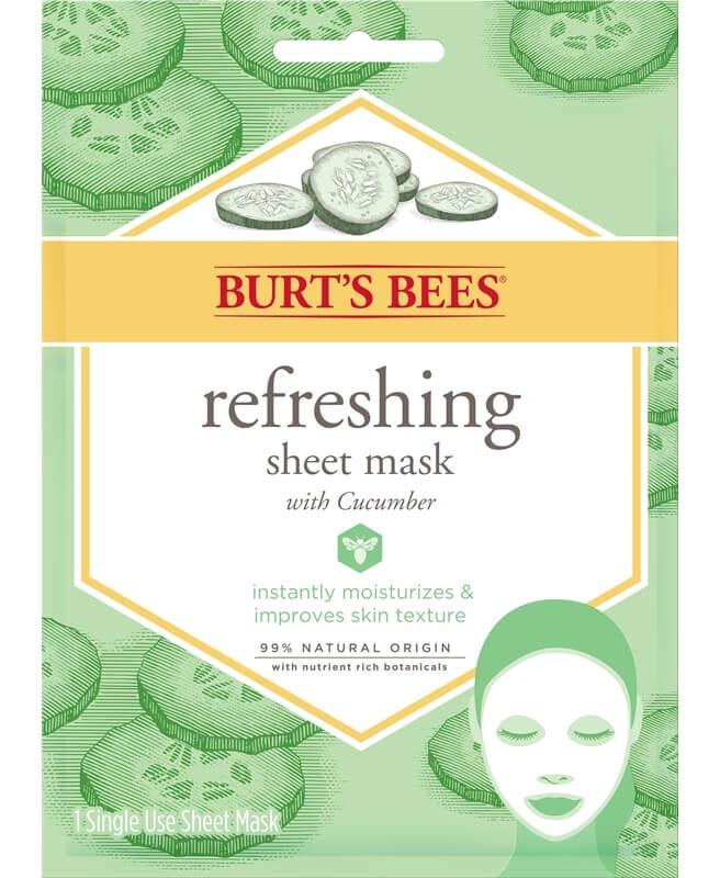 Burt's Bees Refreshing Sheet Mask With Cucumber
