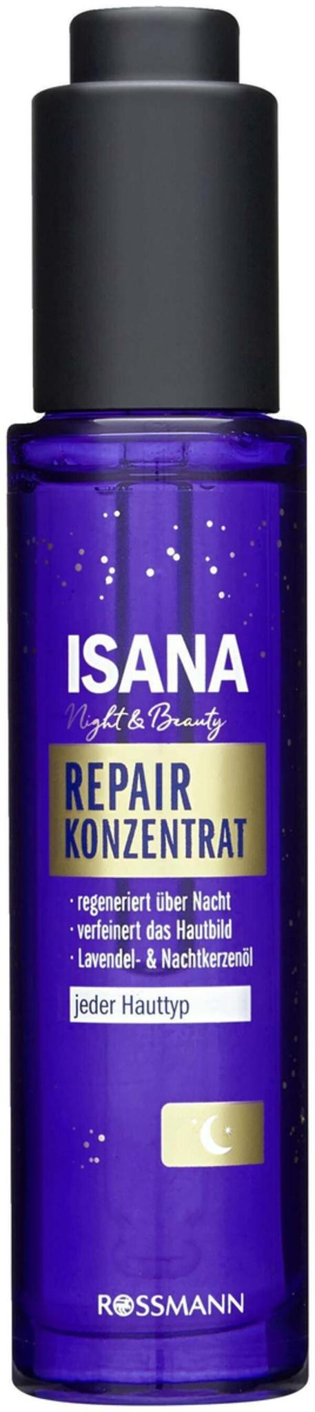 Isana Night & Beauty Repair Konzentrat Night Serum