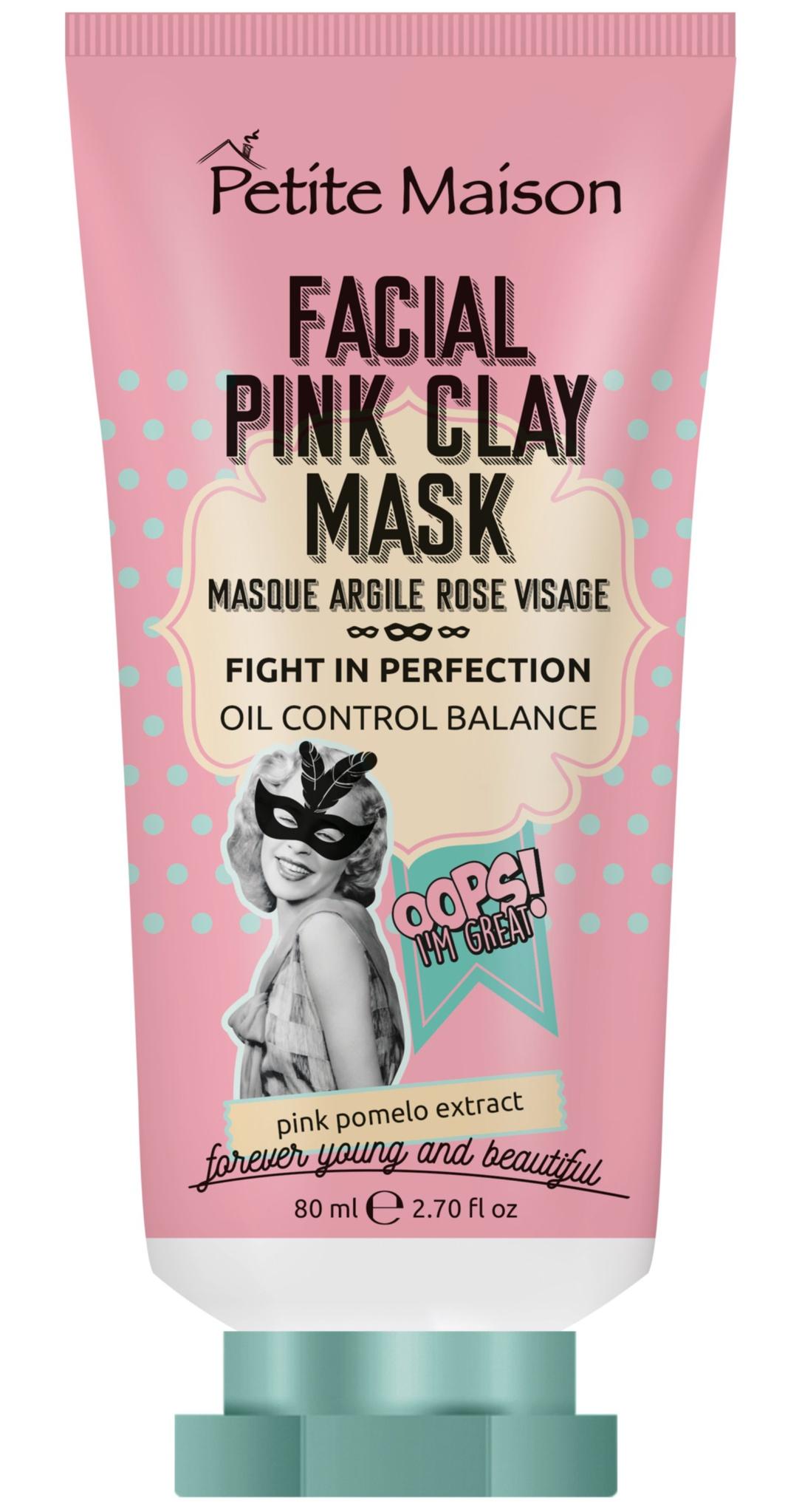 Petite Maison Facial Pink Clay Mask