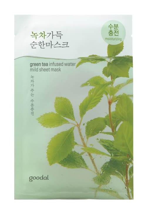 Goodal Green Tea Infused Water Mild Sheet Mask