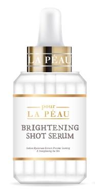 Pour la peau Brightening Shot Serum