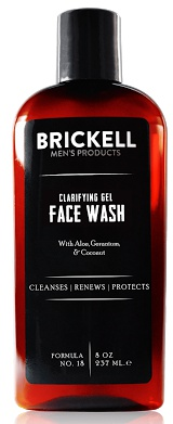 Brickell Men's Products Clarifying Gel Face Wash For Men