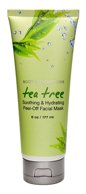 Body Prescriptions Bath & Beauty Tea Tree Soothing & Hydrating Peel-Off Facial Mask