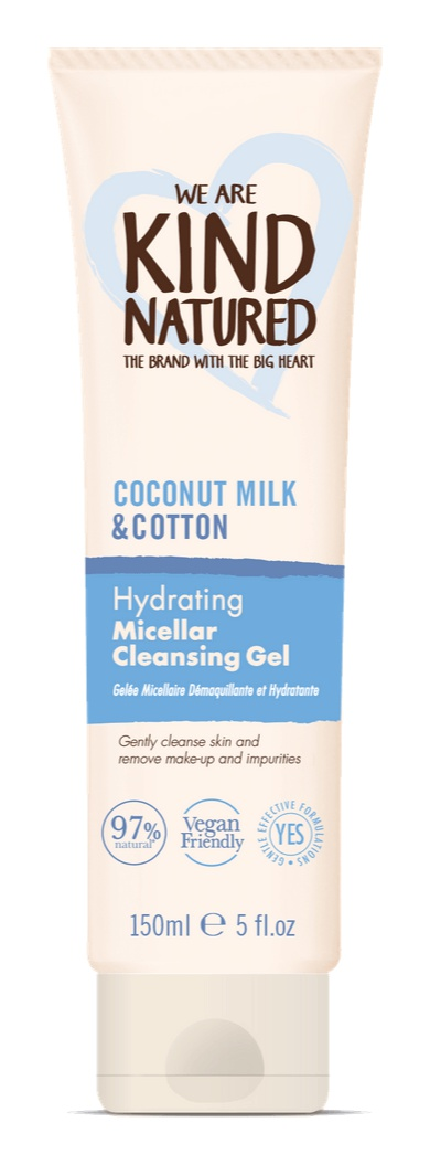 Kind Natured Hydrating Coconut Milk & Cotton Micellar Cleansing Gel